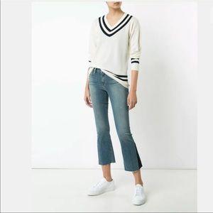 FRAME Denim Le Crop Mini Boot Gusset Austin Jeans